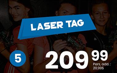 La fête laser tag